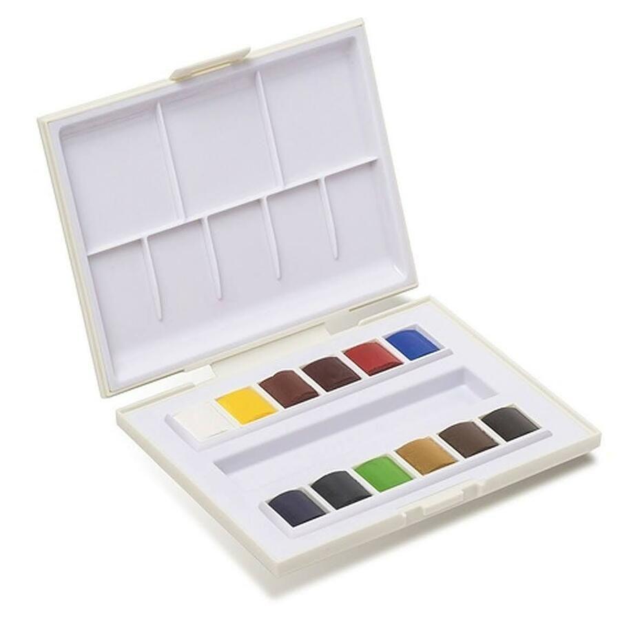 Sennelier La Petite Aquarelle 12 X Half Pan Watercolour Paint Set
