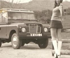 Things looked beautiful in the sixties... #LandRover