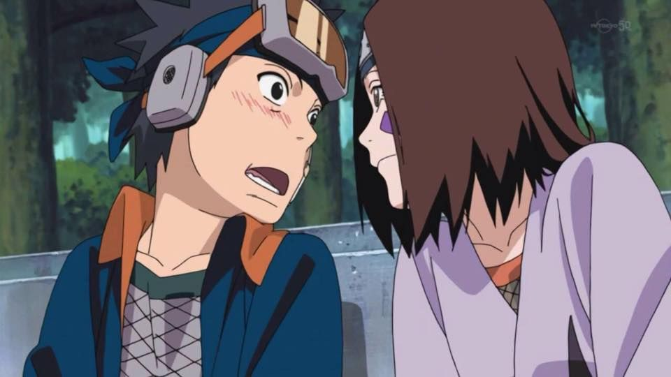 Pin By Anime Metal On Obito Rin