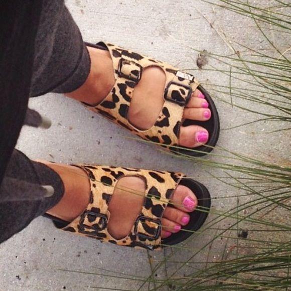 Steve Madden Leopard slides | Mary