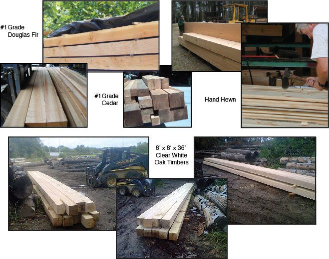 Timber Products Cypress Western Red Cedar Douglas Fir Oak Southern Yellow Pine High Stuctural Grade Western Red Cedar Southern Yellow Pine Timber