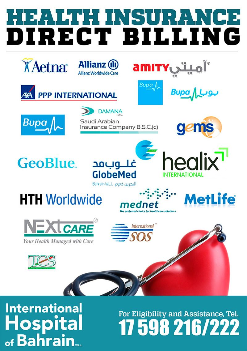 The International Hospital Of Bahrain Major Health Insurance