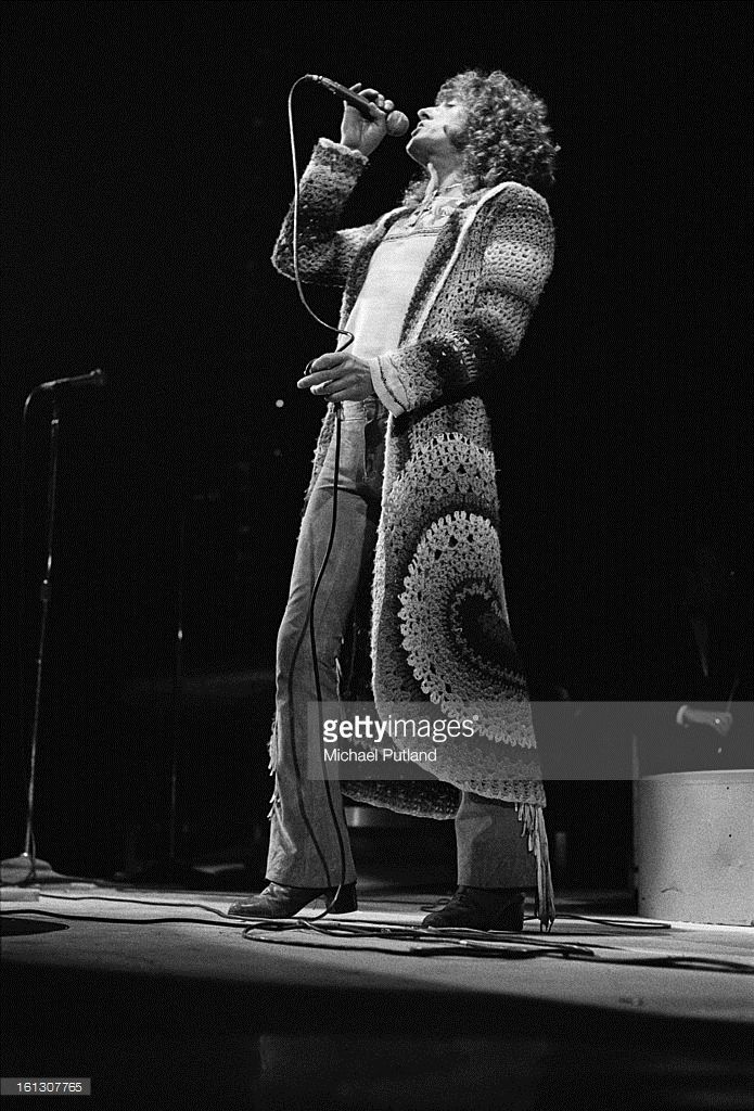 112bba9011349c Singer Roger Daltrey performing in the stage version of the Who s rock  opera  Tommy  at the Rainbow Theatre