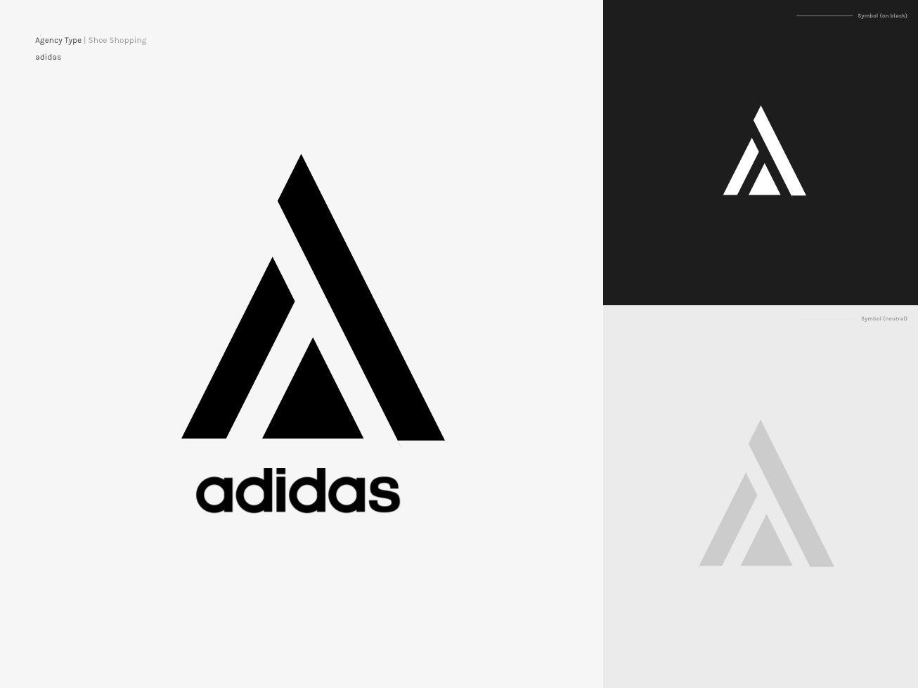 Adidas Re Design Adidas Logo Redesign Logos