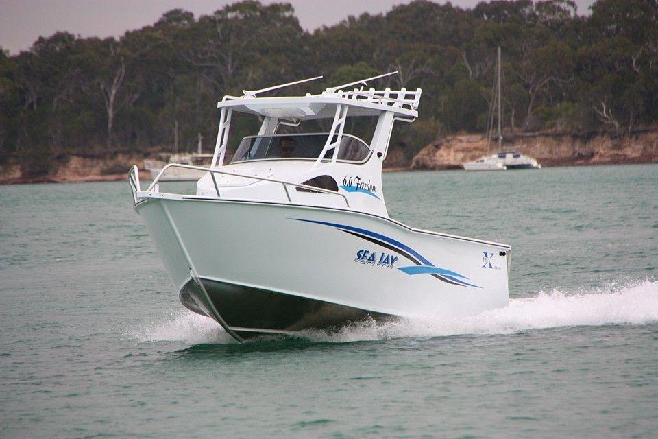 Sea Jay 6 0 Freedom Boat Fishing Boats Offshore