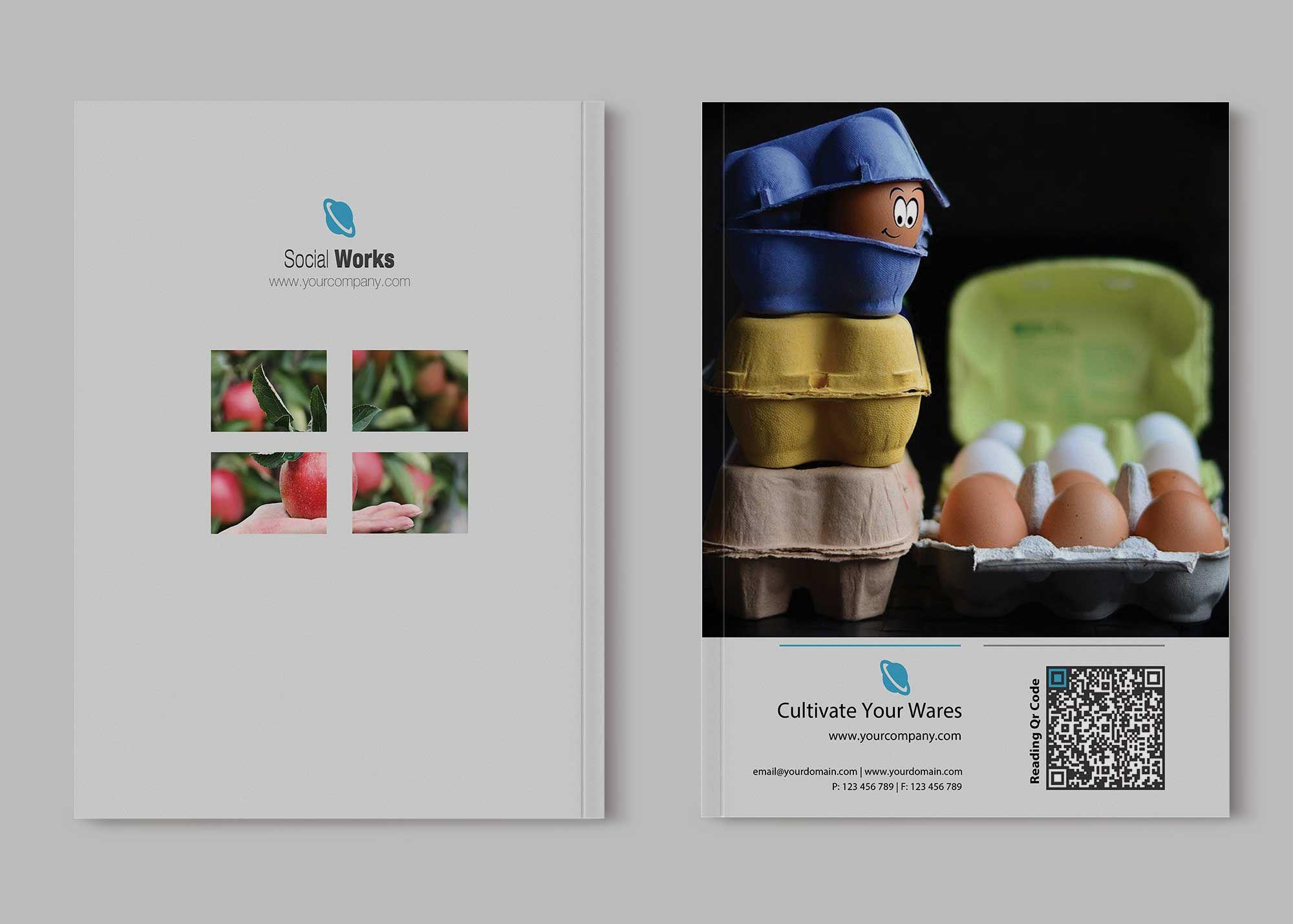 Free Download Wine Brochure Template Brochure