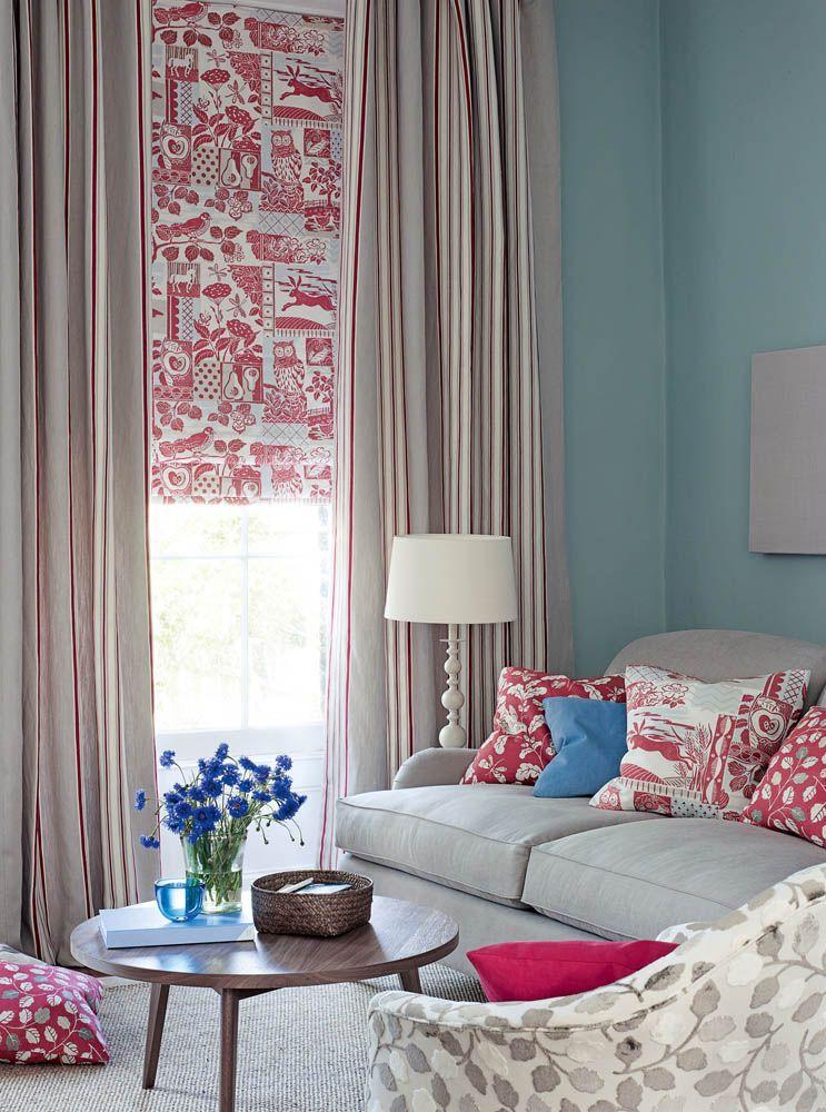 Jane Churchill S Brightwood Curtain Camber Stripe Drapes