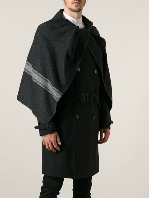 Men's Maison Personnal Caped Trench Style Martin Margiela CoatMy Nnm08w