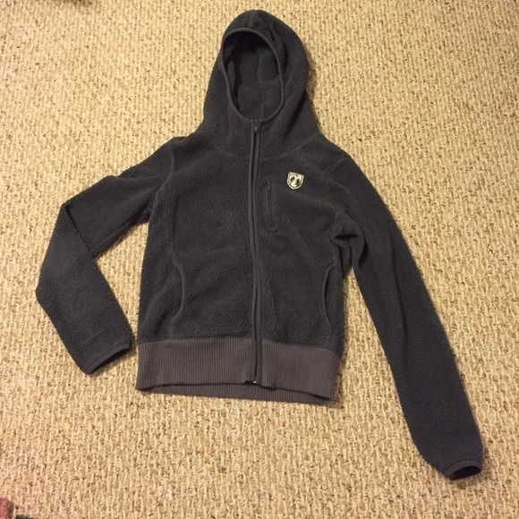 Moving Sale Dark Grey American Eagle Zip-Up Dark grey zip-up with hood. American Eagle brand. Fleece like material. Zips up high. Great condition! Feel free to ask questions. Offers are welcome  American Eagle Outfitters Tops Sweatshirts & Hoodies