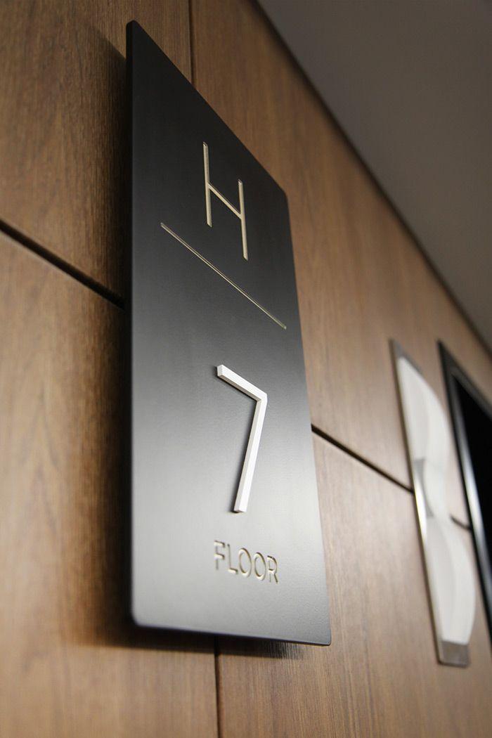Nh Training Institute Signage Design Door Signage Architectural Signage