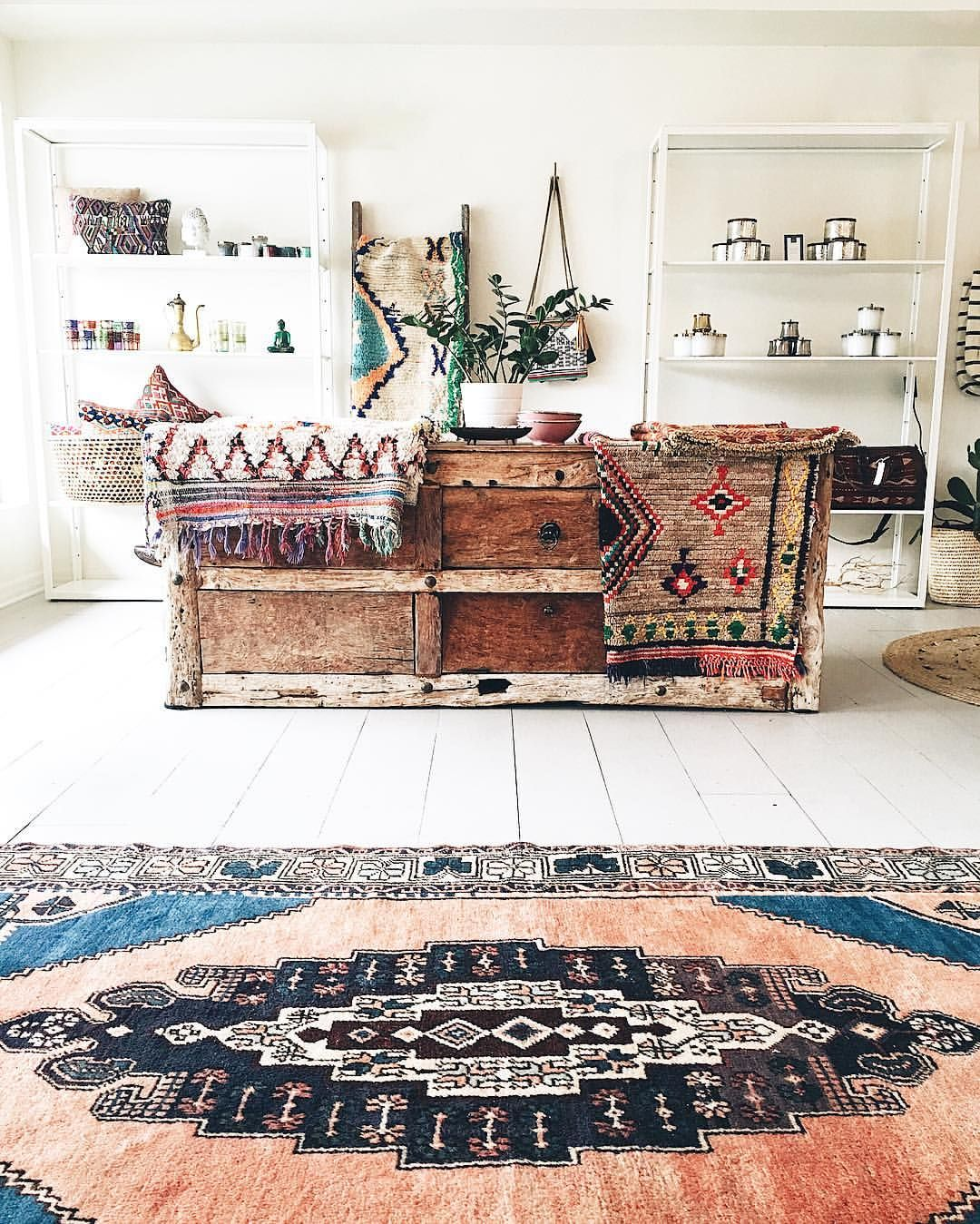 Interior Decor Stores: Green Body + Green Home Retail Store Display Bohemian