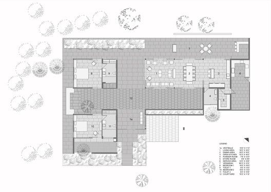 The House By The Trees Floor Plan House Architecture Styles Contemporary House Design House Architecture Design