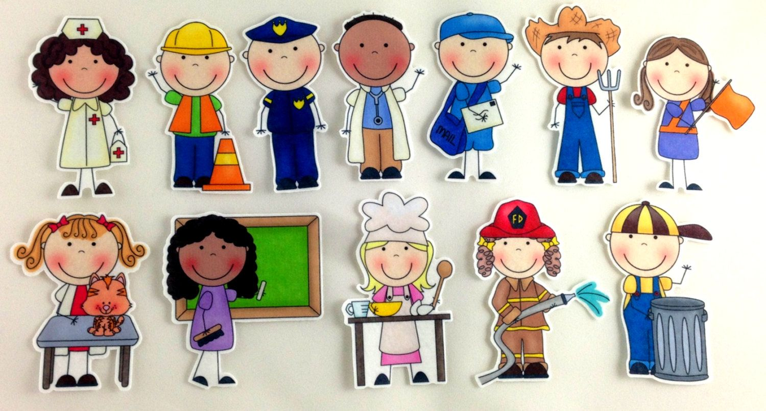 Community Helpers Coloring Pages Pdf : Clipart pictures of community helpers cliparts galleries early
