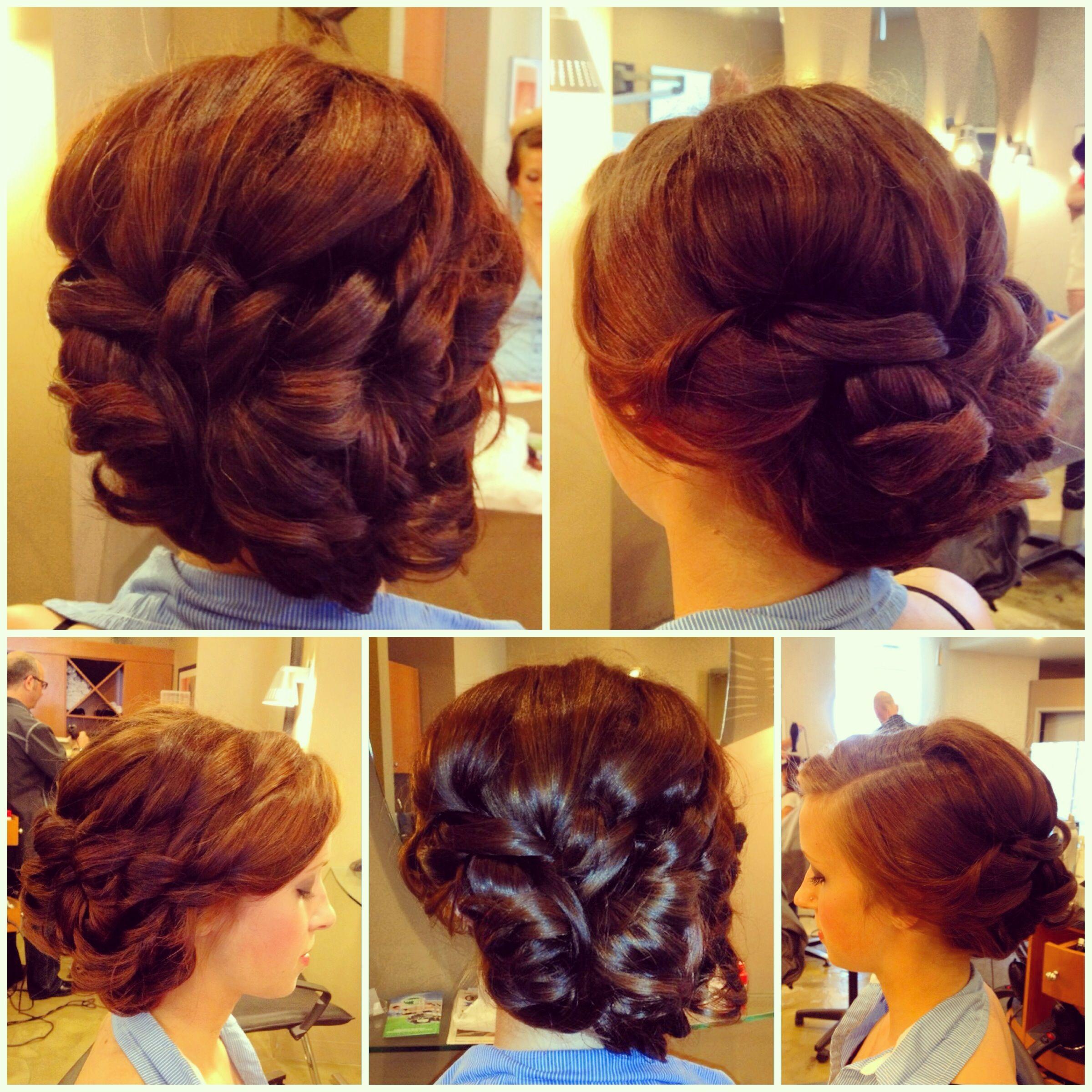 Formal updo prom hair bridal prom pinterest formal updo
