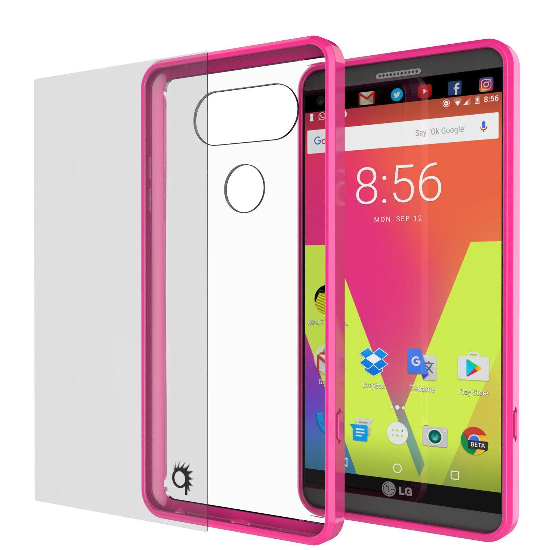 LG v20 Case Punkcase® LUCID 2.0 Pink Series w/ PUNK SHIELD Glass ...