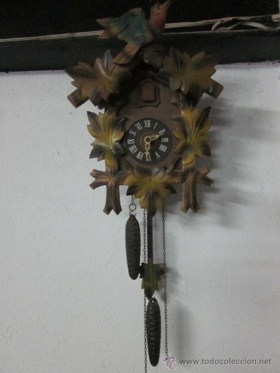 2c5de828955e Antiguo reloj de cuco suizo