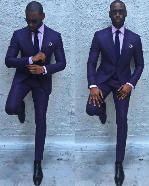 Davidson Frere lavender suit | All About the Groom™ | Pinterest