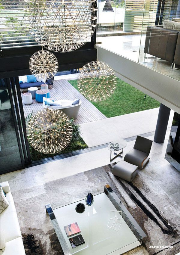 Opulent Modern Home In Houghton