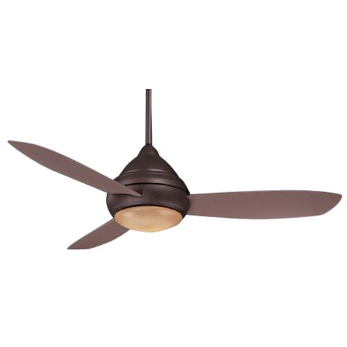 Minka Aire Fans Wet Rated Ceiling Fan With Three Blades And Light Kit F577 Orb Destination Lighting Ceiling Fan Outdoor Ceiling Fans Wet Rated Ceiling Fans