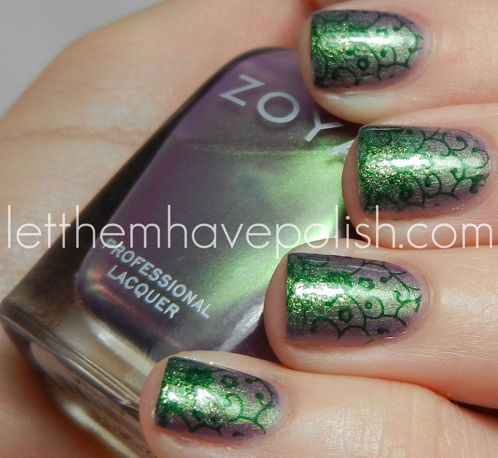 Poison Ivy | Nail Art | Pinterest | Arte de uñas, Lunes y Belleza