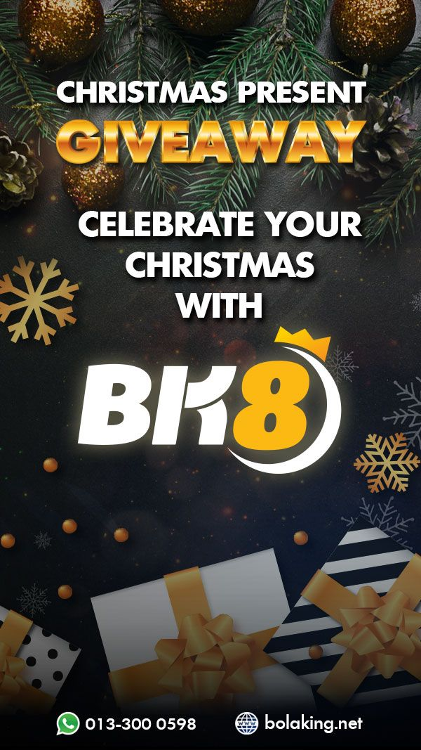 WE WANT YOU TO CELEBRATE CHRISTMAS WITH BK8