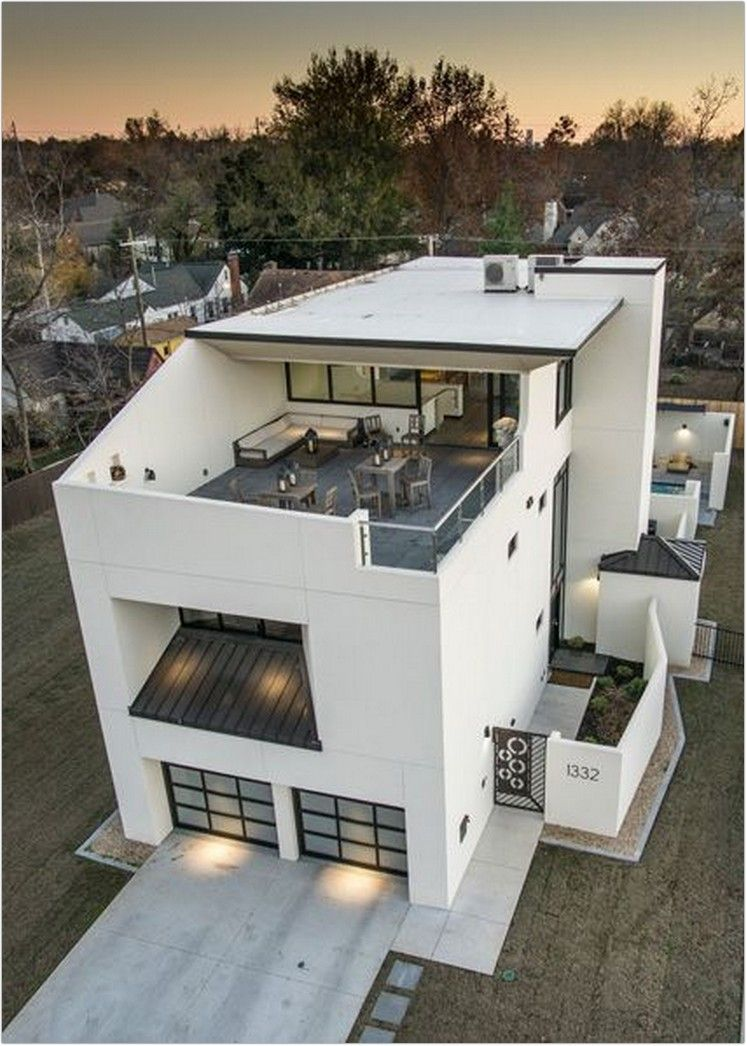 40 Cool Home Decor Ideas For New Home From Exterior And Interior 56 Kp Design In 2020 Modern House Plans Architecture House Modern House Design
