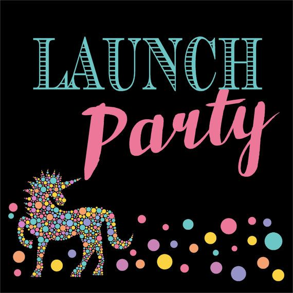 Consultant Unicorn Launch Party Sign Looks By MichelleRayeDesigns