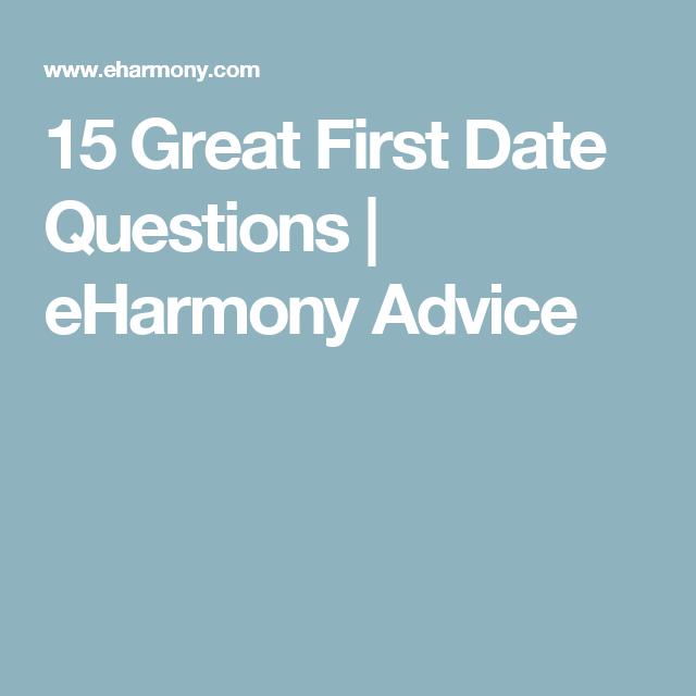good eharmony questions