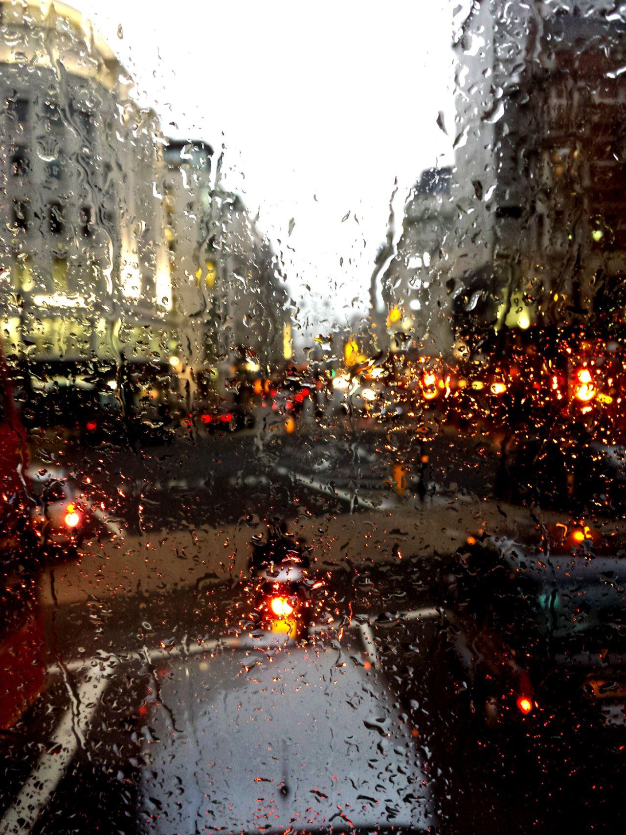 Rainy day in London. | rainy