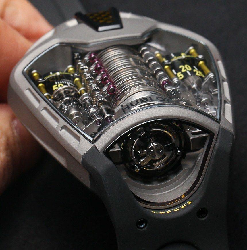 Hublot Mp 05 Laferrari Ferrari Titanium Yellow Watch Hands On Ablogtowatch Yellow Watches Hublot Leather Watch Cuff