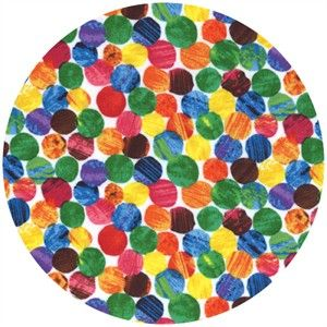 Andover Fabrics The Very Hungry Caterpillar Dottie Spectrum