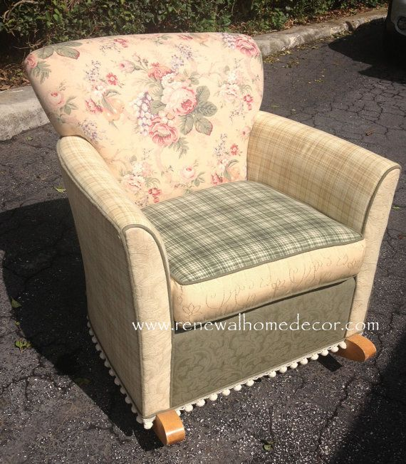hey i found this really awesome etsy listing at http www etsy com rh pinterest com shabby chic upholstered furniture shabby chic upholstered dining chairs