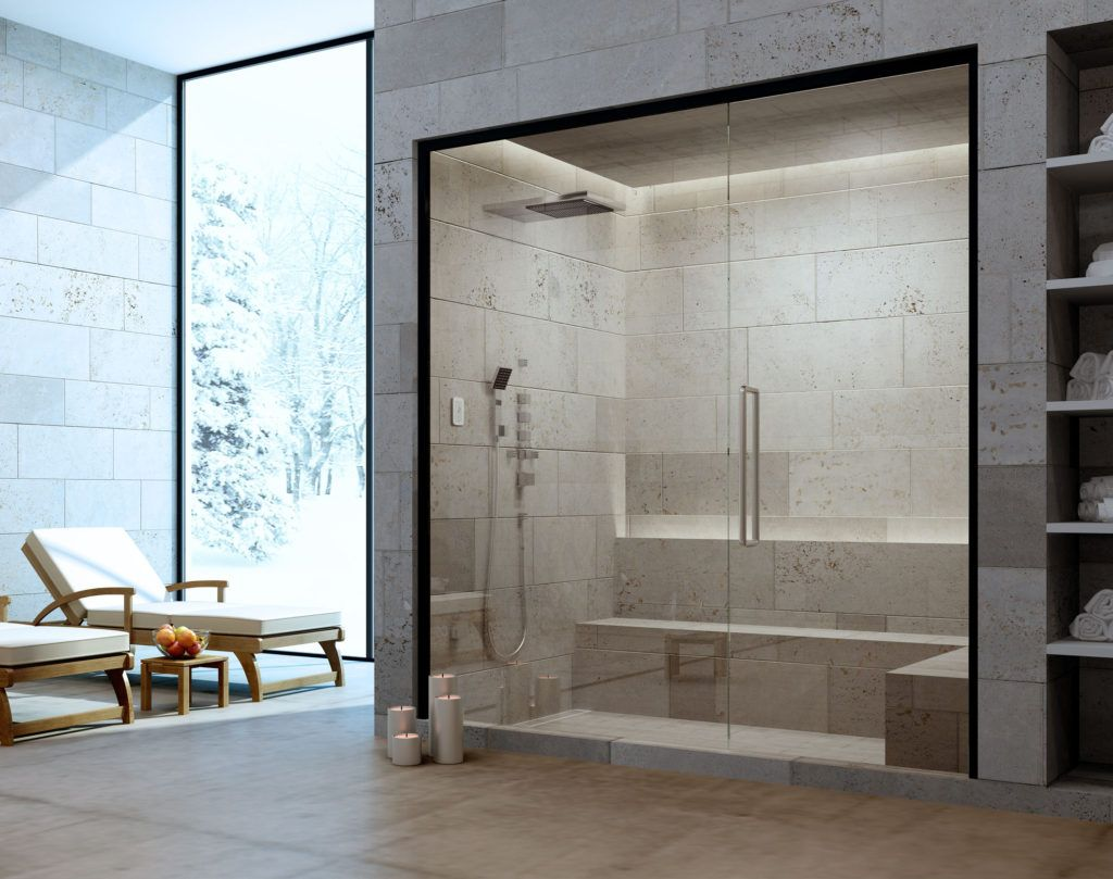 About Helo Sauna With Images Steam Room Shower Bathroom