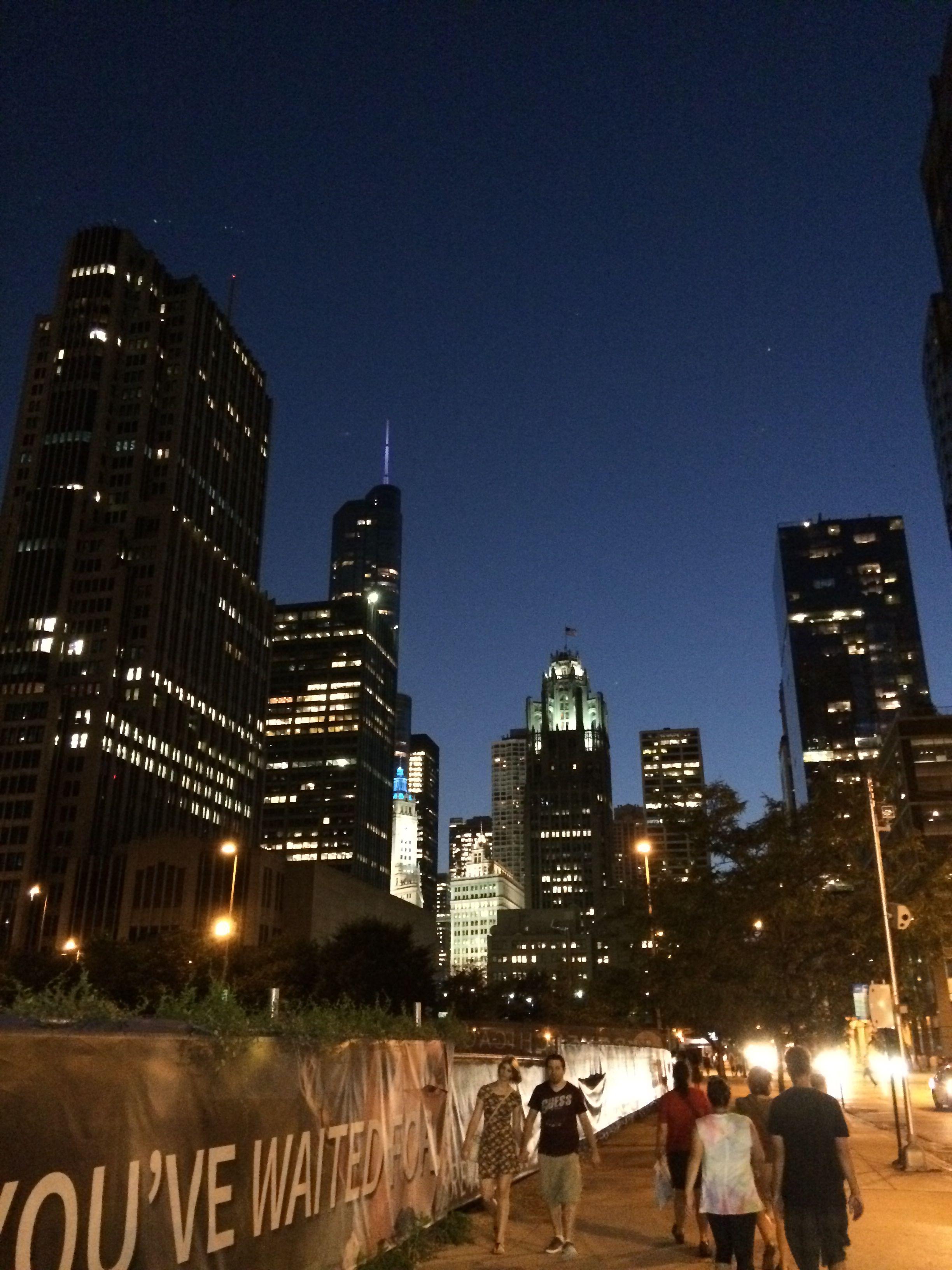 Chicago a warm September evening!