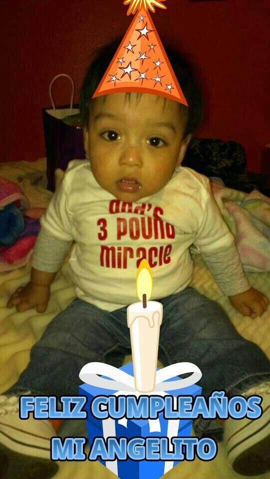 My grandson first birthday
