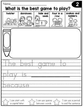 24++ Journal writing worksheets for kindergarten Top