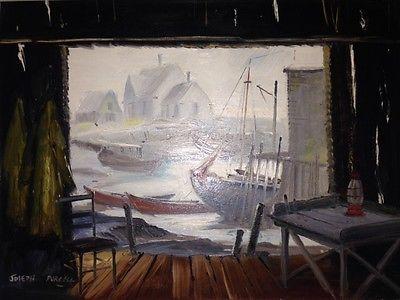 Original Oil Painting by Famous Artist Joseph Douglas Purcell