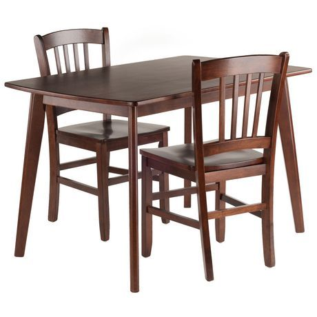 Winsome Shaye 3Pc Dining Table Set Walnut | Products in 2019 ...