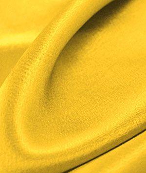 Yellow Crepe Back Satin