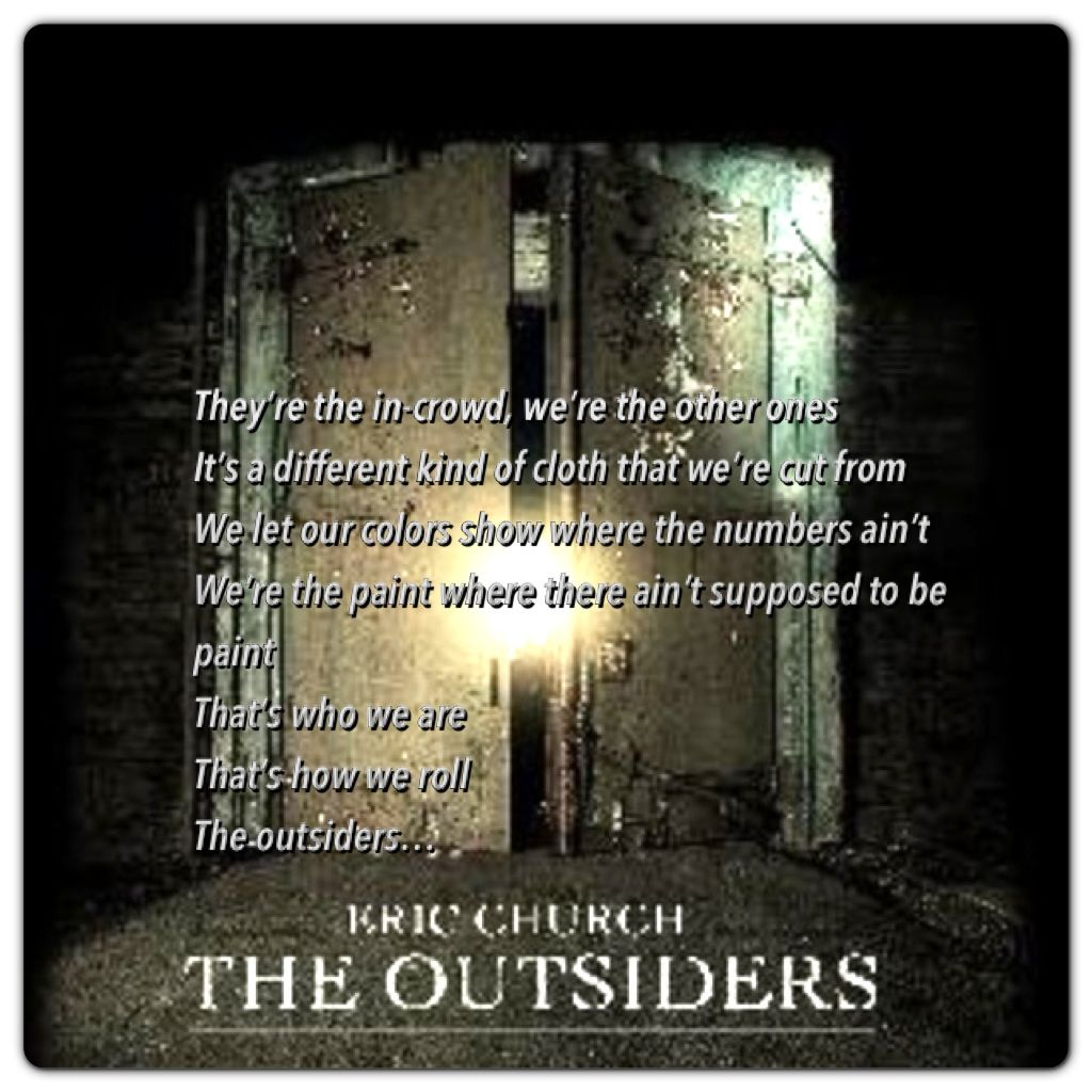 Eric Churchs New Single The Outsiders Country Must Be Country
