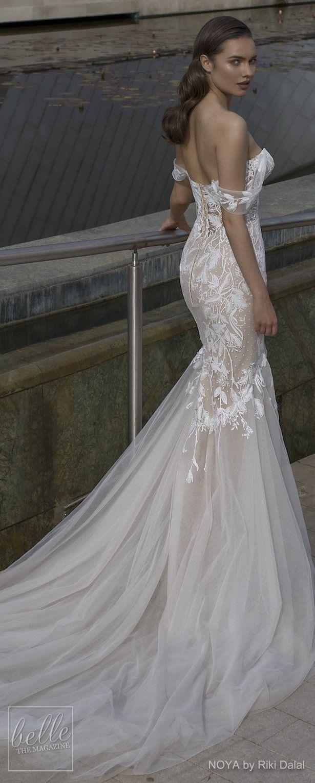 Lace wedding dress ivory january 2019 NOYA By Riki Dalal Wedding Dresses Spring  Forever Bridal
