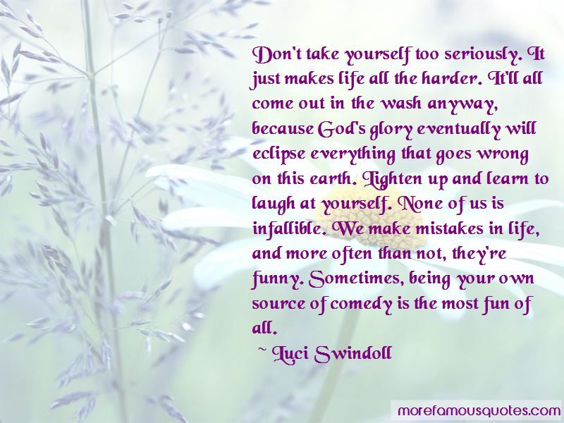 Image Result For Learning To Laugh At Yourself Quotes Quote