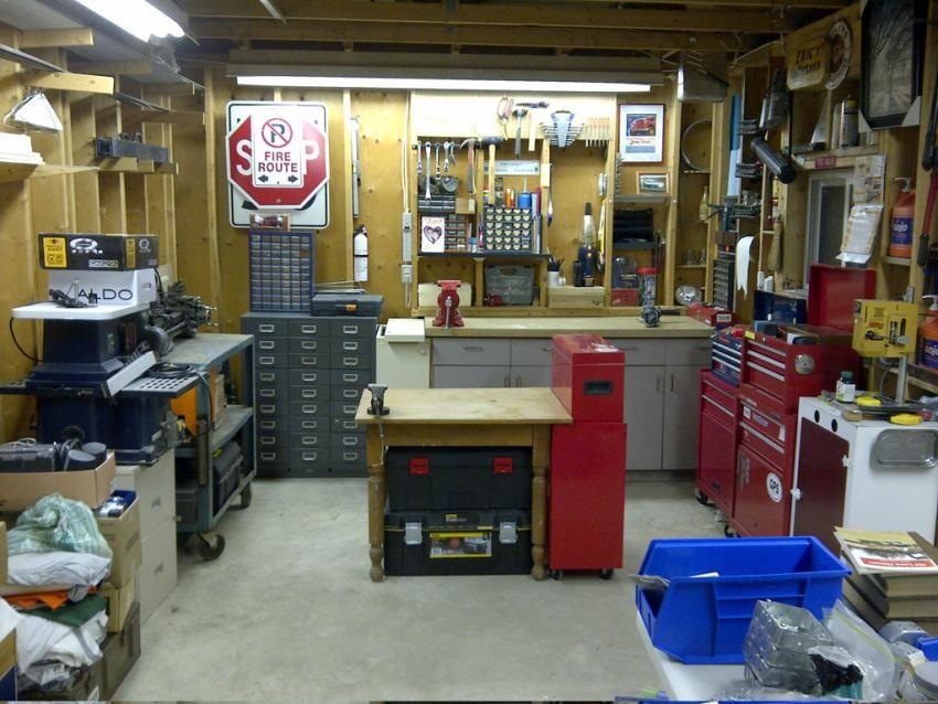 Man Cave Garage Journal : Show me the best 1 car garage? page 6 garage journal board