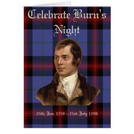 Burns night greeting card burning s burns night greeting card m4hsunfo