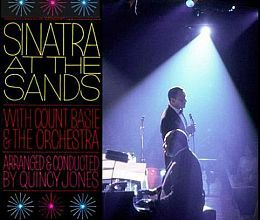 """Recorded in January 1966, """"Sinatra at the Sands"""" is Frank Sinatra's first live album, with Count Basie Orchestra conducted by Quincy Jones. TODAY in LA COLLECTION on RVJ >> http://go.rvj.pm/6a4"""