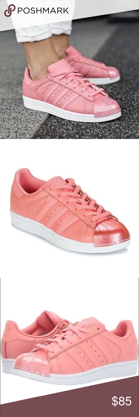 9466005e219f NEW Adidas Superstar Tactile Rose 80 s Sneakers New without box.  Basketball s first all-leather low top continues to ride in high style.  These women s shoes ...