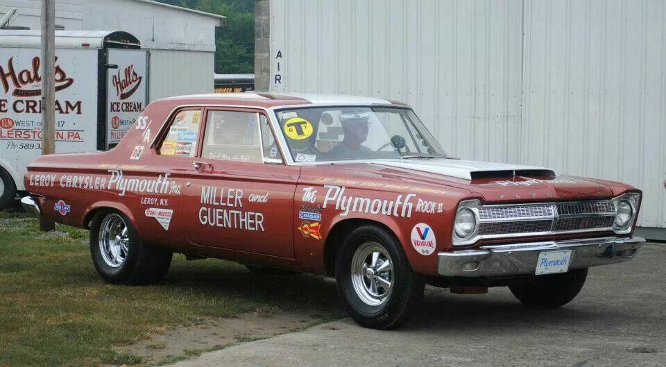 Old Super Stock Plymouth, same model as my car, awesome! | Cool ...