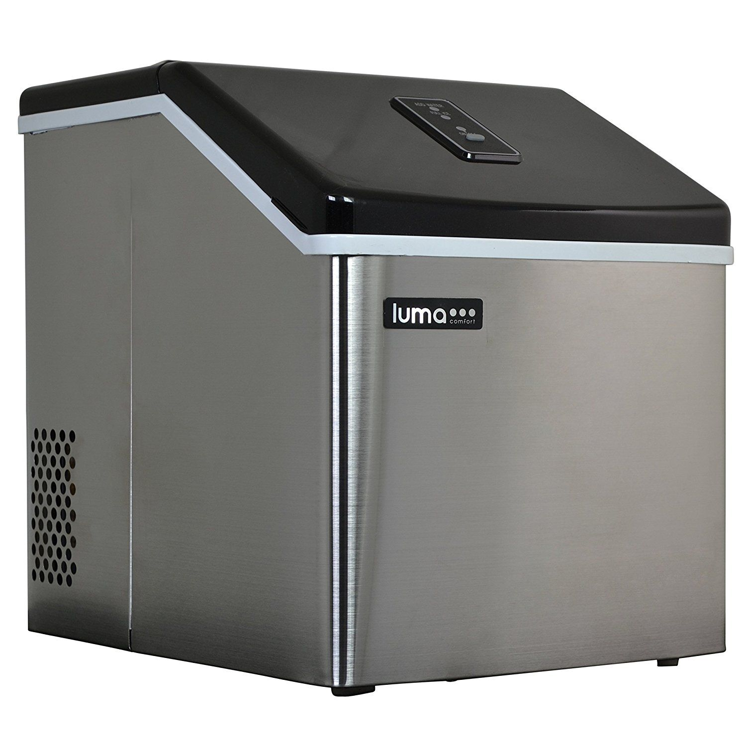 Luma Comfort Im200ss Portable Clear Ice Maker 28 Pound This Is An Amazon Affiliate Link Visit The Image Link Portable Ice Maker Ice Maker Machine Ice Maker