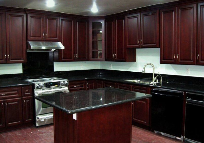 25 Best Cherry Kitchen Cabinets Ideas On Internet Cherry Wood
