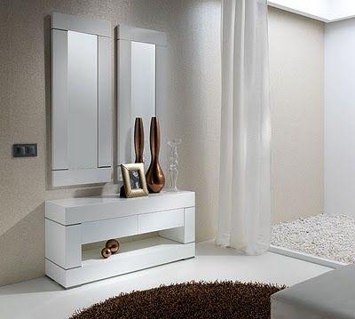 Muebles de dise o por la decoradora experta consolas de - Muebles para consolas ...